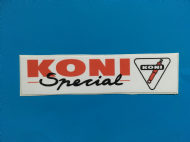 KONI SPECIAL sticker/decal x2